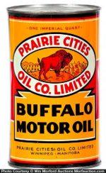 Buffalo Oil Can