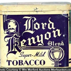 Lord Kenyon Pocket Tobacco Tin