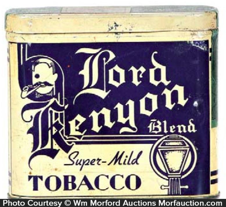 Lord Kenyon Pocket Tobacco Tin