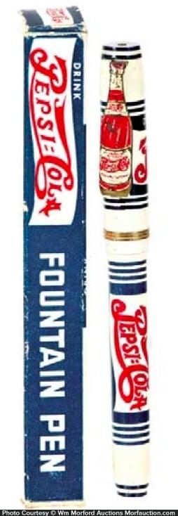 Pepsi Fountain Pen