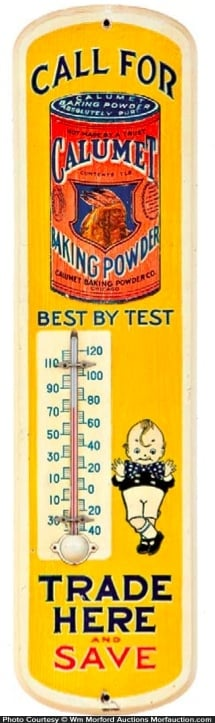Calumet Baking Powder Thermometer