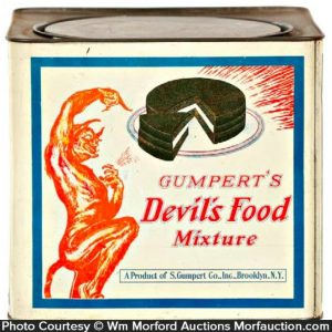 Gumpert's Devil's Food Tin