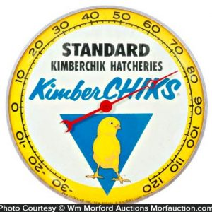 Kimberchick Hatcheries Thermometer
