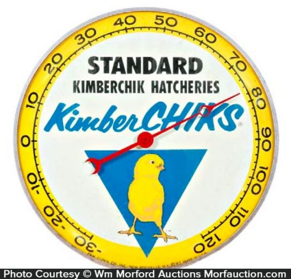Kimberchick Hatcheries Thermometer