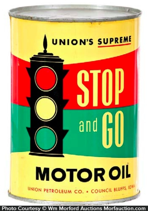 Stop and Go Oil Can