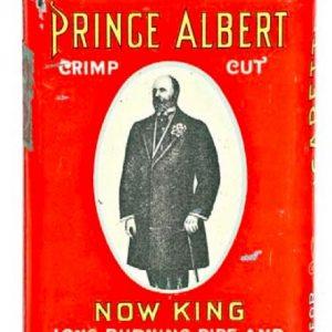 Prince Albert Now King Tobacco Tin