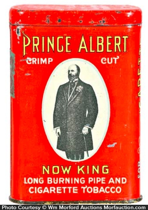 Prince Albert Now King Tobacco Tin