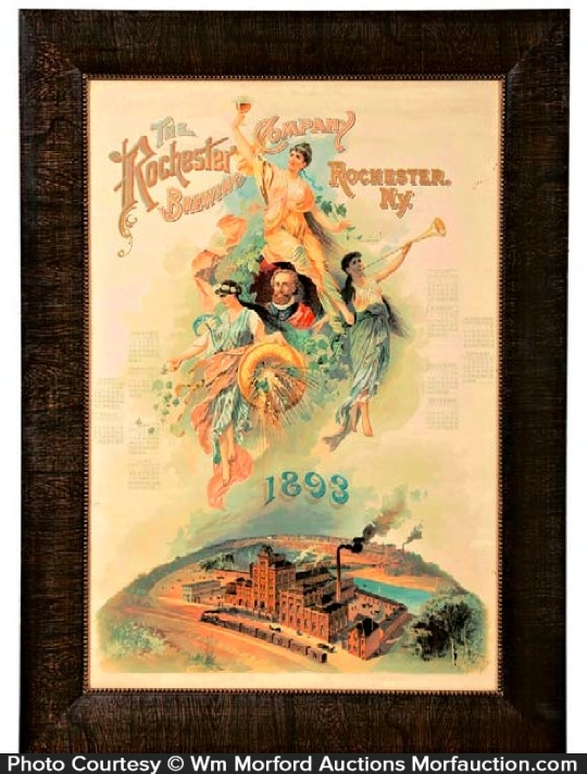 Rochester Brewing Company Calendar