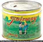 Fairway Coffee Can