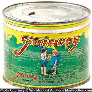 Fairway Coffee Can