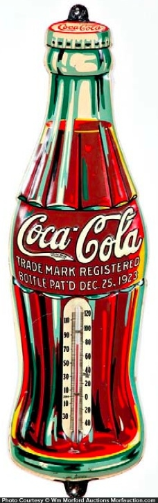 Coca-Cola Bottle Thermometer