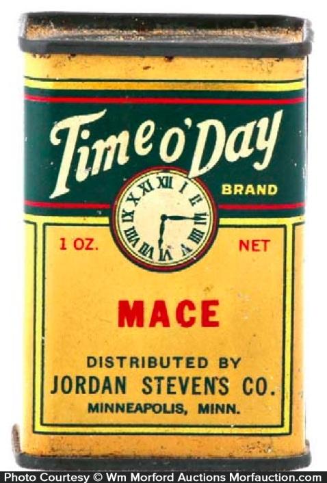 Time O' Day Spice Tin
