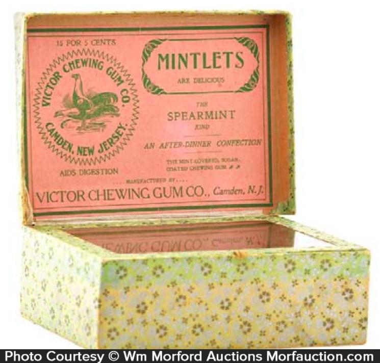Victor Mintlets Gum Box