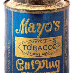 Mayo's Tobacco Tin