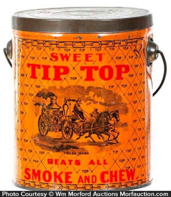 Tip-Top Tobacco Pail
