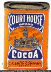 Court House Cocoa Tin