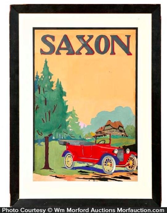 Saxon Illustration Art Painting