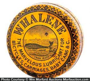 Whalene Lubricant Tin