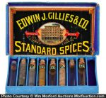 Gillies Spice Display Box