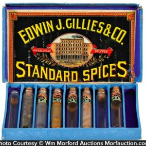 Gillies Spice Display Box