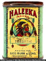 Haleeka Spice Tin