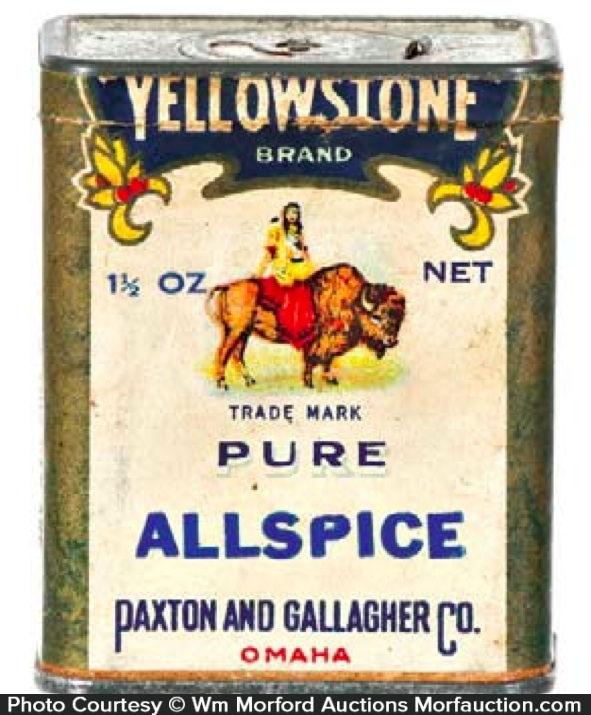 Yellowstone Spice Tin