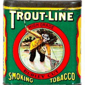 Trout Line Tobacco Tin