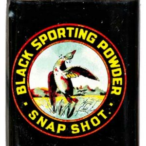 Snap Shot Gunpowder Tin