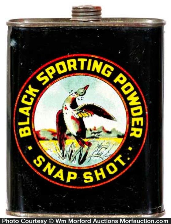 Snap Shot Gunpowder Tin