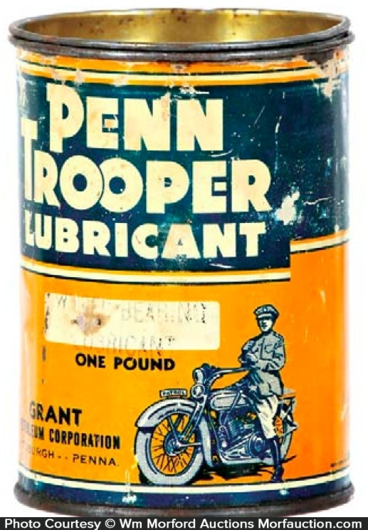 Penn Trooper Lubricant Tin