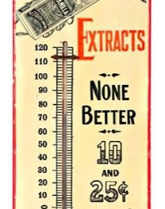 Sauer's Extracts Thermometer
