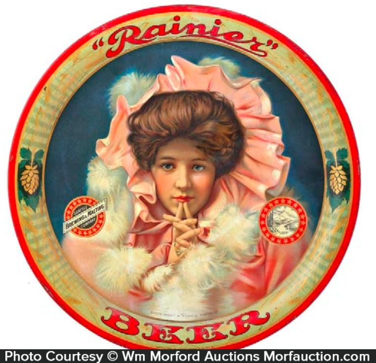 Rainier Beer Tray