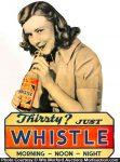 Whistle Soda Sign