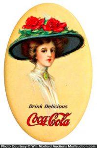 1911 Coca-Cola Mirror