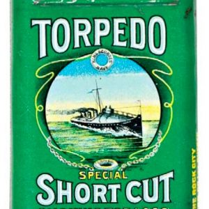 Torpedo Short Cut Tobacco Tin