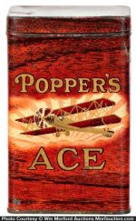 Poppers Ace Cigar Tin