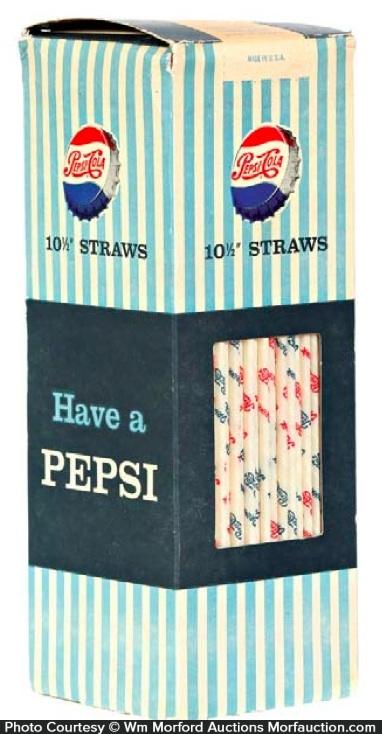 Pepsi Straw Box