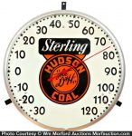 Sterling Hudson Coal Thermometer