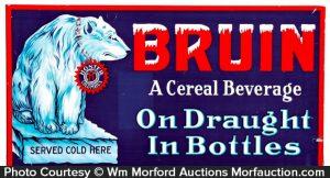 Bruin Cereal Beverage Sign