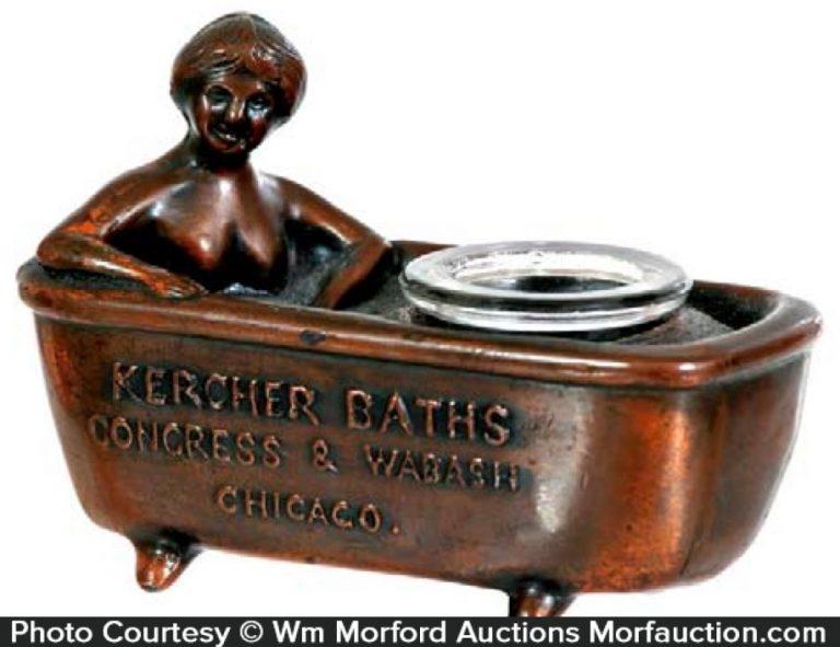 Kercher Baths Inkwell
