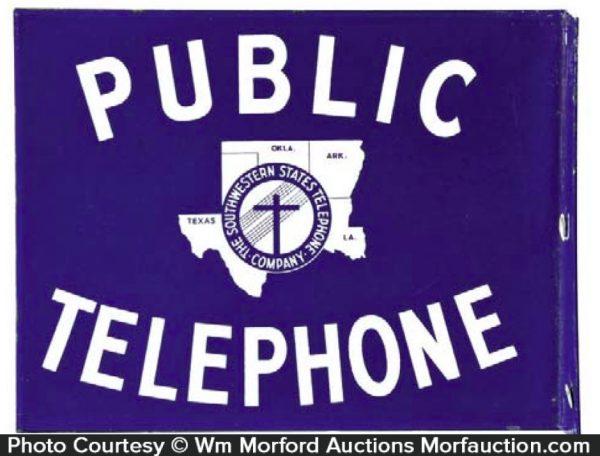 Southwestern States Telephone Sign