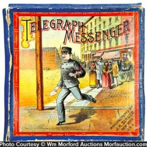 Telegraph Messenger Game