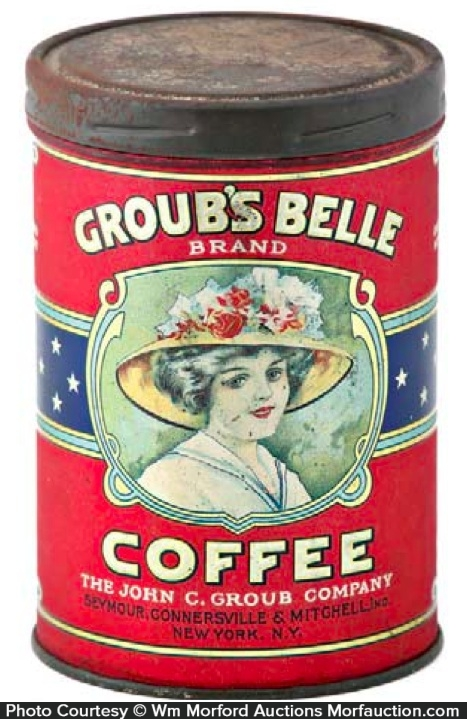 Groub's Belle Coffee Can