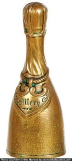 Champagne Bottle Bell