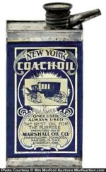 New York Coach Oil Can