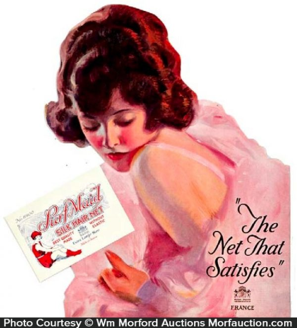 Surf Maid Hair Nets Sign