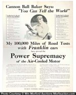 Franklin Automobile Poster