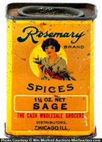 Rosemary Spice Tin