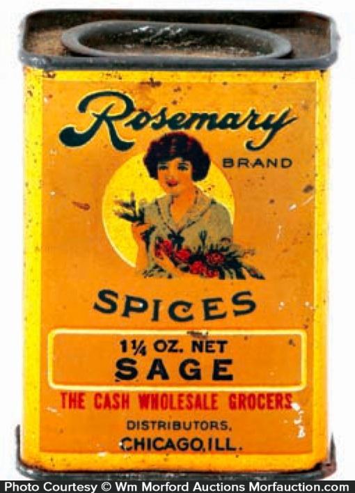 Rosemary Spice Tin