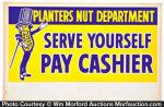 Planters Nut Department Sign
